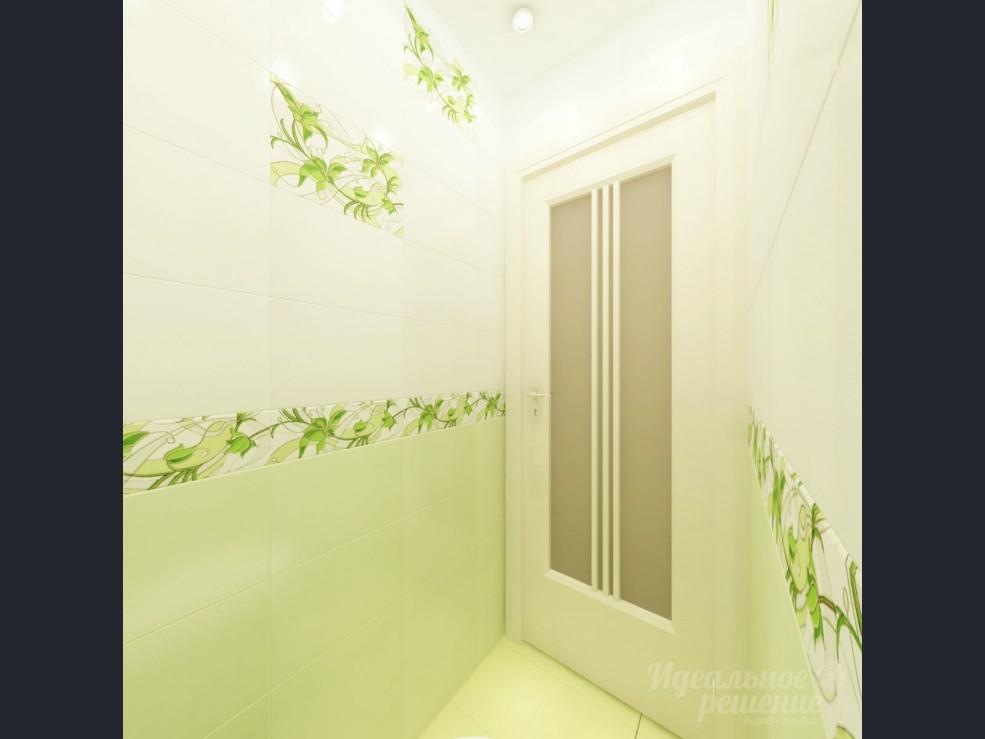 Дизайн комнаты в зелёном цвете