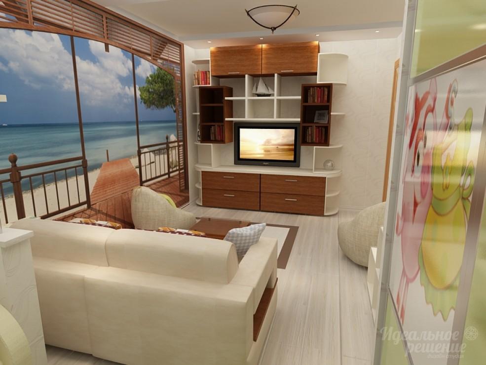 Дизайн небольшой 9-метровой спальни